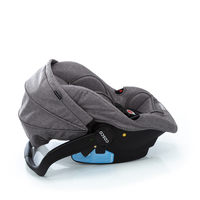 Travel System Poppy DUO Cinza Mescla