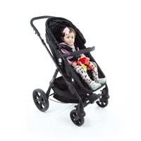 Travel System Poppy DUO Preto Mescla